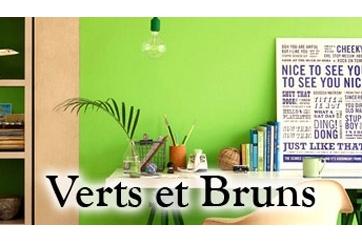 Verts et Bruns